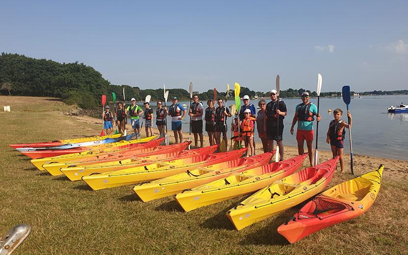 kayak avec camping les 7 saints
