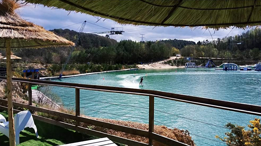 camping activité wakeboard